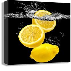 """Картина-репродукция """"Лимоны"""", 32х32 см"""