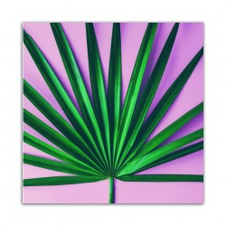 """Репродукция на стекле 30x30 см """"Розовый"""""""