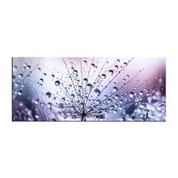 """Картина-репродукция 50x125 см """"Фиолетовые капельки"""""""