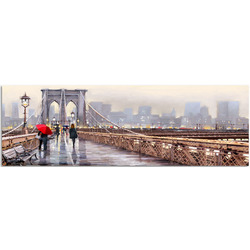"Картина-репродукция ""New York Bridge"", 45x140 см"