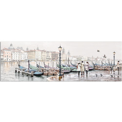 """Картина-репродукция """"Venezia Gondolе"""", 45x140 см"""