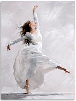 "Картина-репродукция ""Dancer1"", 60x80 см"