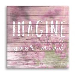 """Картина-репродукция """"IMAGINE"""", 32x32 см"""