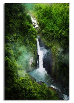 """Картина-репродукция на стекле 70x100 см """"Водопад"""""""