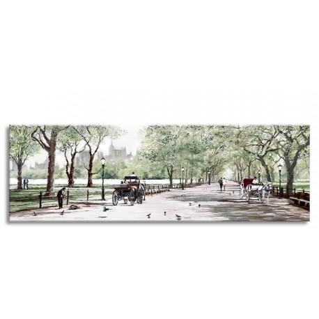 """Репродукция на холсте 60x150 см """"Центральный парк"""""""