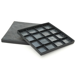 "Плитка для садовых тропинок ""Stomp Stone"" 30х30 см, графит"