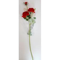 """Цветок искусственный """"Ветка розы"""""""