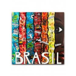 """Репродукция на холсте 60x60 см """"Бразилия"""""""