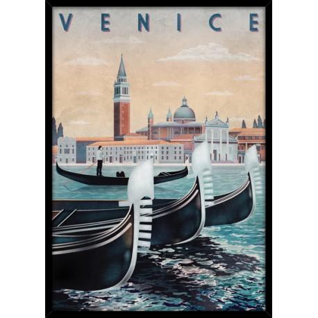 """Репродукция в рамке 50x70 см """"Венеция"""""""