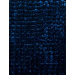Коврик для ванной Shiny chenille 50х80 см (100% полиэстер) синий