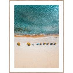 """Репродукция в рамке 50x70 см """"Солнечный пляж"""""""