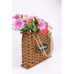 Декоративная подарочная сумка 01-119/XS