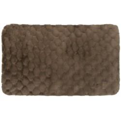 Ковер Jaquard 60x100 см (100% полиэстер), коричневый
