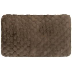 Ковер Jaquard 80x150 см (100% полиэстер), коричневый