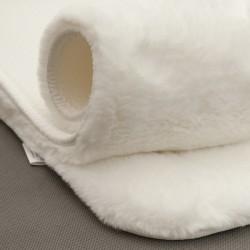 Ковер Bellarossa 80 см круглый (100% полиэстер), белый