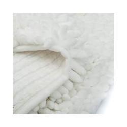 Коврик для ванной SHINE СHENILLE 60x90 см (ПЭ-100%), белый