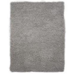 Коврик-шкура BARANEK 70x140 см (ПЭ-100%), серый