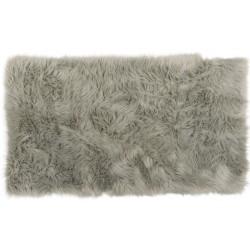 Коврик-шкура PATCHWORK 150x200 см ( ворс-акрил 100%), серый
