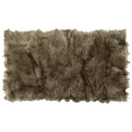Коврик-шкура PATCHWORK 150x200 см ( ворс-акрил 100%), темно-бежевый