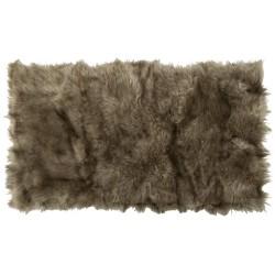Коврик-шкура PATCHWORK 60x110 см ( ворс-акрил 100%), темно- бежевый