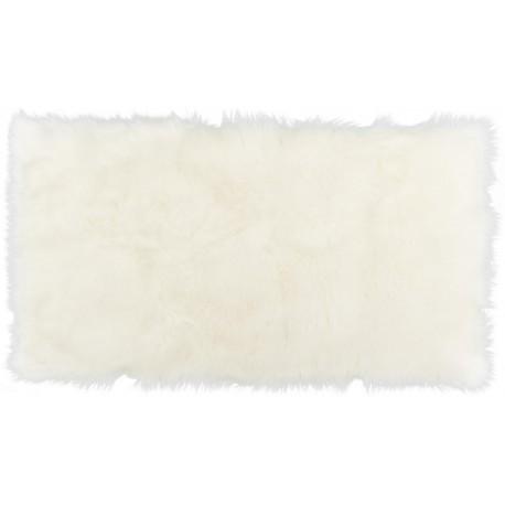 Коврик-шкура PATCHWORK 60x110 см ( ворс-акрил 100%), белый