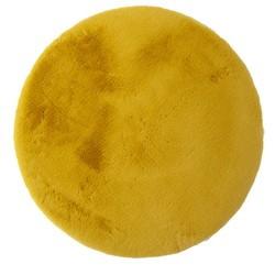 Ковер BELLAROSSA 80 см, круглый (100% полиэстер), желтый
