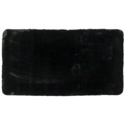 Ковер BELLAROSSA 80x150 см (100% полиэстер), черный