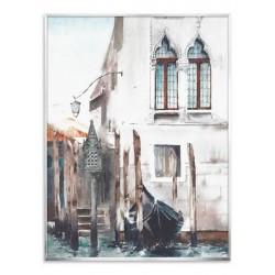 """Репродукция на холсте в рамке 60x80 см """"Старая Венеция"""""""