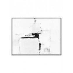 "Репродукция на холсте в рамке 75x100 см ""Black&White"""