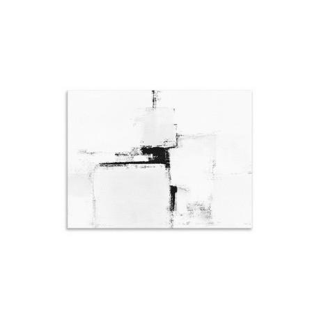 "Репродукция на холсте 85x113 см ""Black&White"""