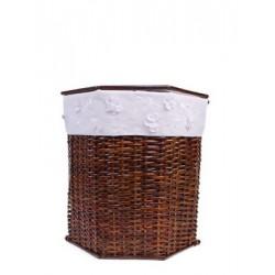 Корзина плетеная с крышкой