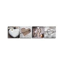 """Картина-репродукция """"Винтаж love"""", 32х128 см"""