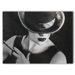 """Картина-репродукция """"Дама с сигарой"""", 60х80 см"""