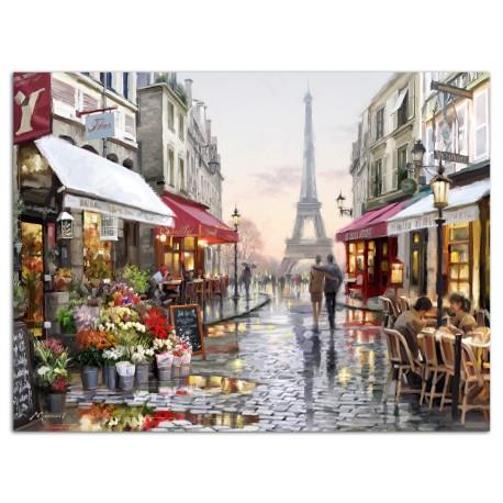 """Картина-репродукция """"Прогулка по Парижу"""", 60x80 см"""