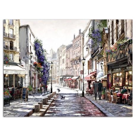 """Картина-репродукция """"Улочка в Париже"""", 60x80 см"""