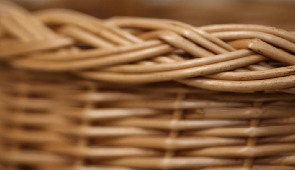 Плетеные корзины из лозы оптом в Минске и Беларуси